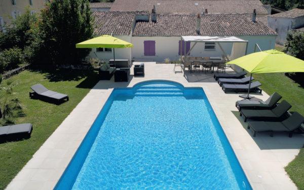 Domaine Poncereau de Bas - piscine