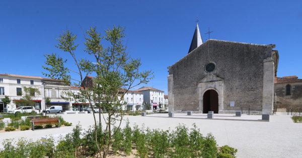 L'église de Saujon