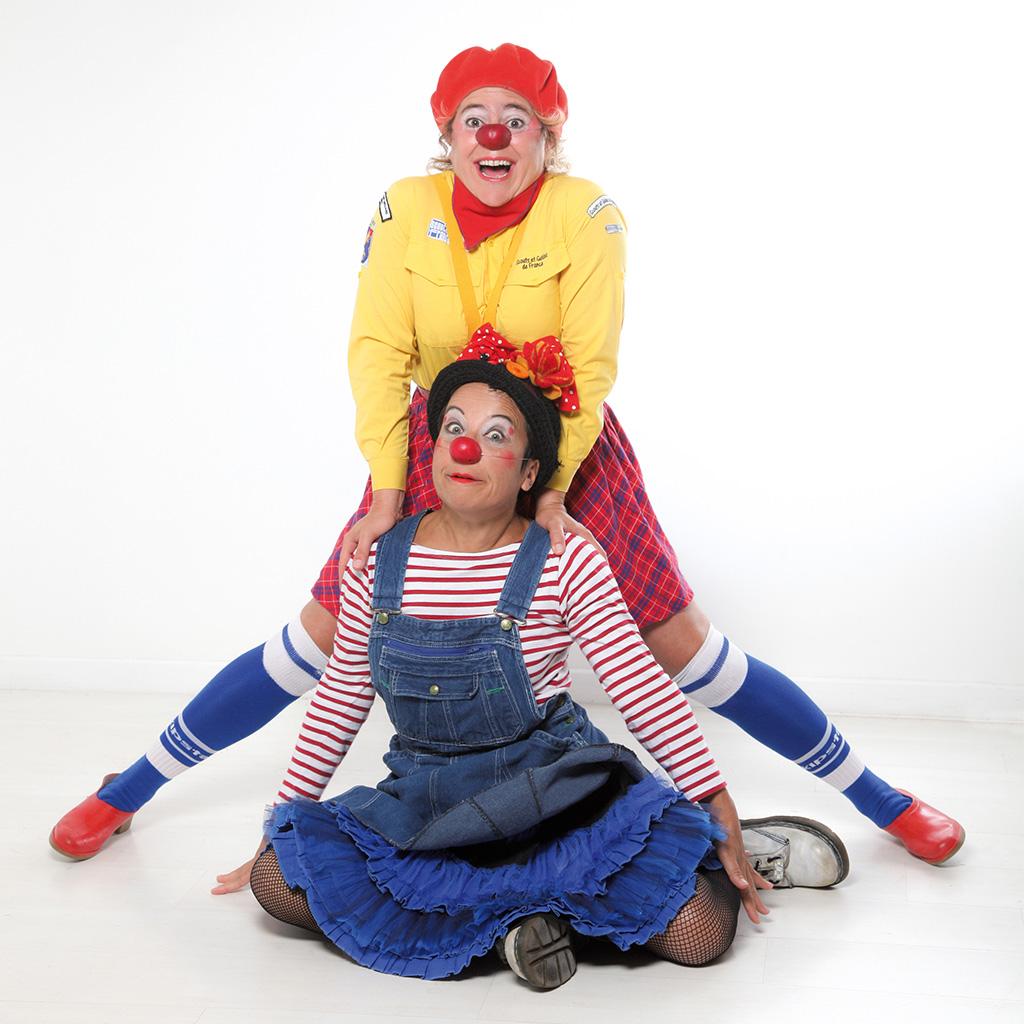 Duo de clown chez DS Souchon