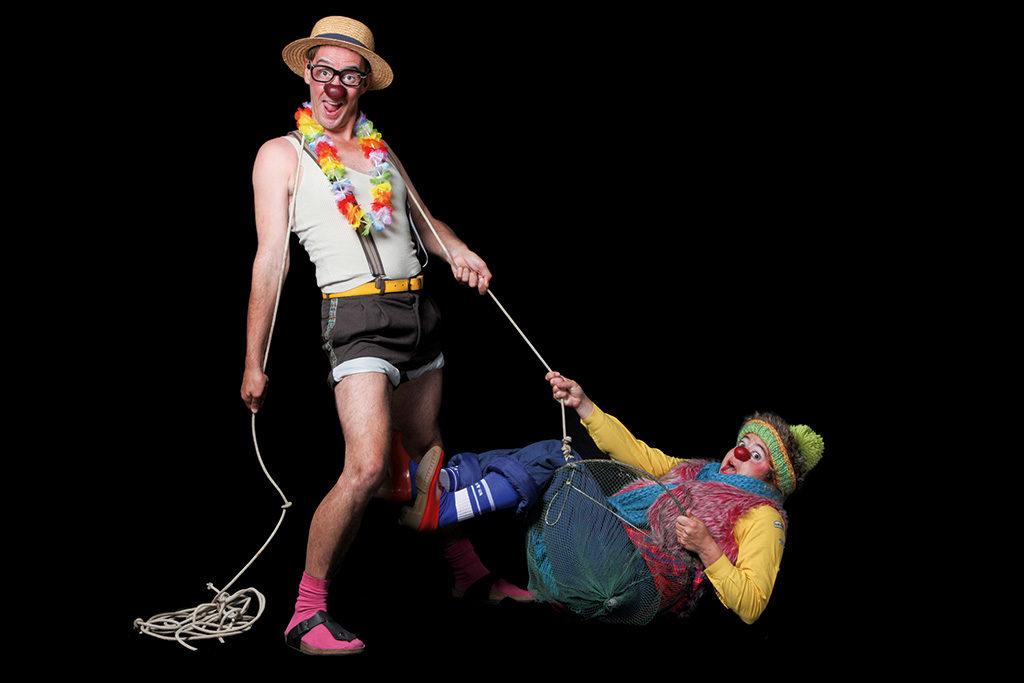 Duo de clown
