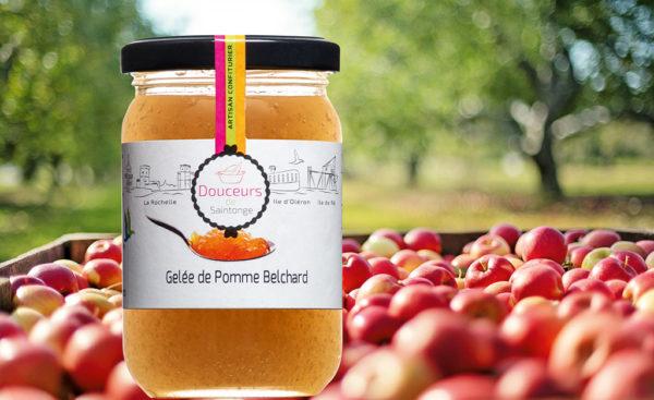 La Gélée de pomme Belchard de Soldive - Douceurs de Saintonge