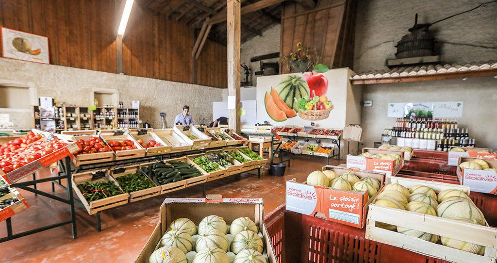 Magasin de fruits et légumes Soldive à Sémussac