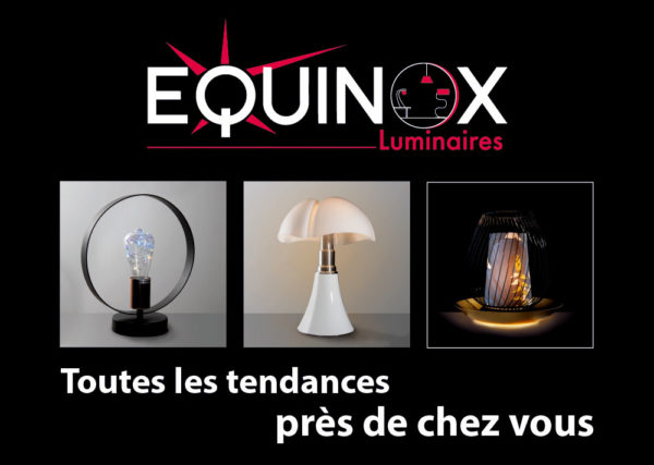 Equinox, luminaire et décoration à Royan