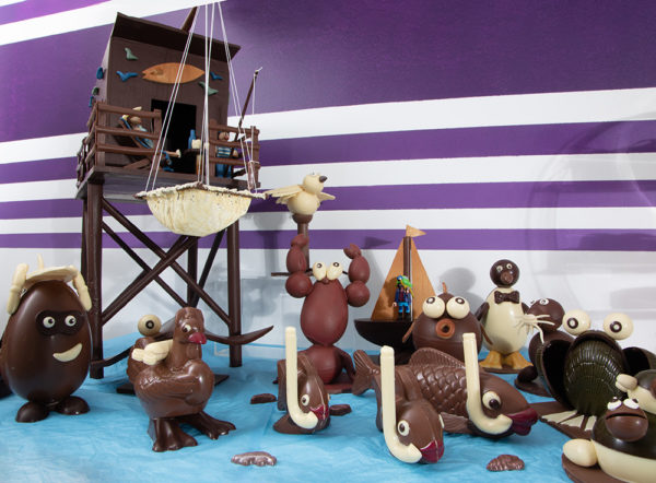 Carrelet en chocolat, la Chocolat'hier à Saintes