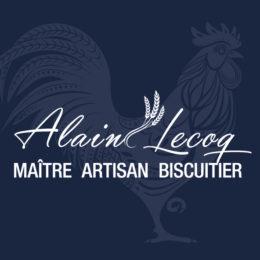 Logo Alain Lecoq, maître artisan biscuitier